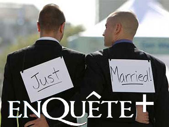 Marre du mariage homosexuel